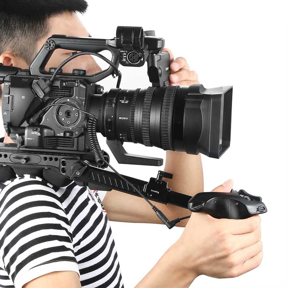 ... SmallRig Sony FS5 Handgrip Adapter with Extension Cable 2192