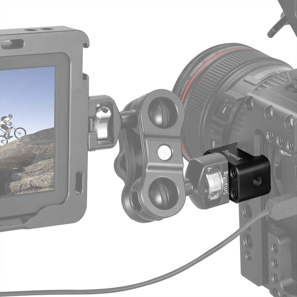 "SmallRig Nato Clamp Mount with Arri 38""Hole 2207"