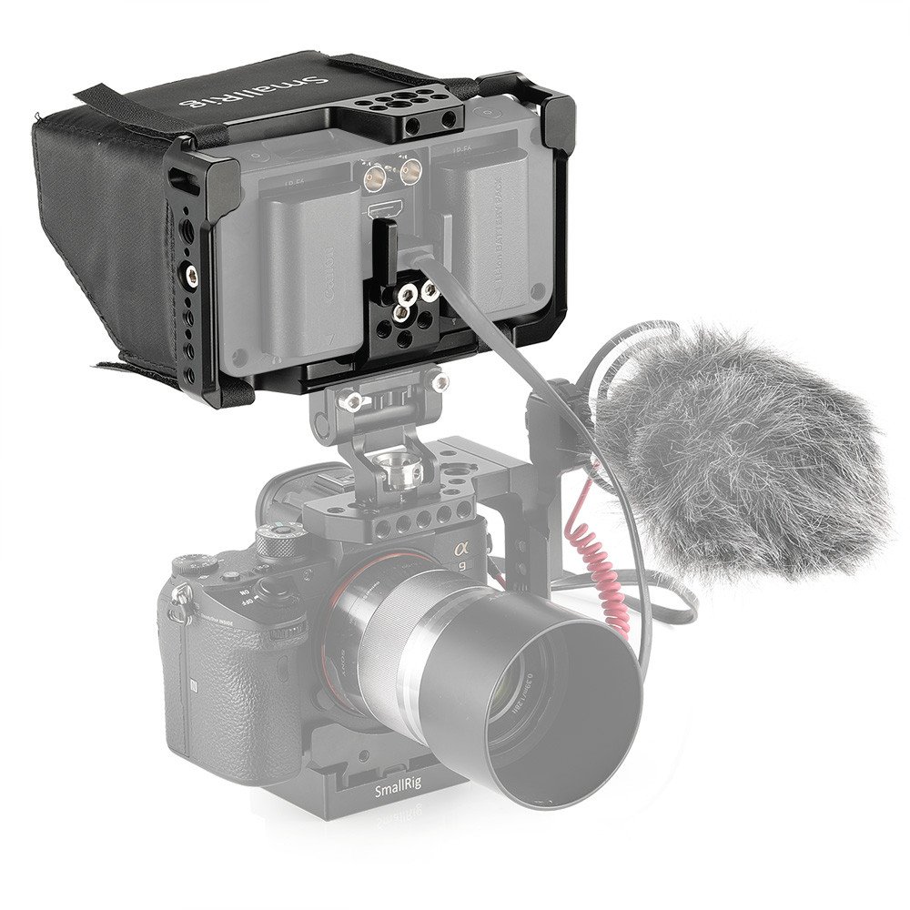 SmallRig Monitor Cage with Sunhood for SmallHD 502 Bright Monitor 2231