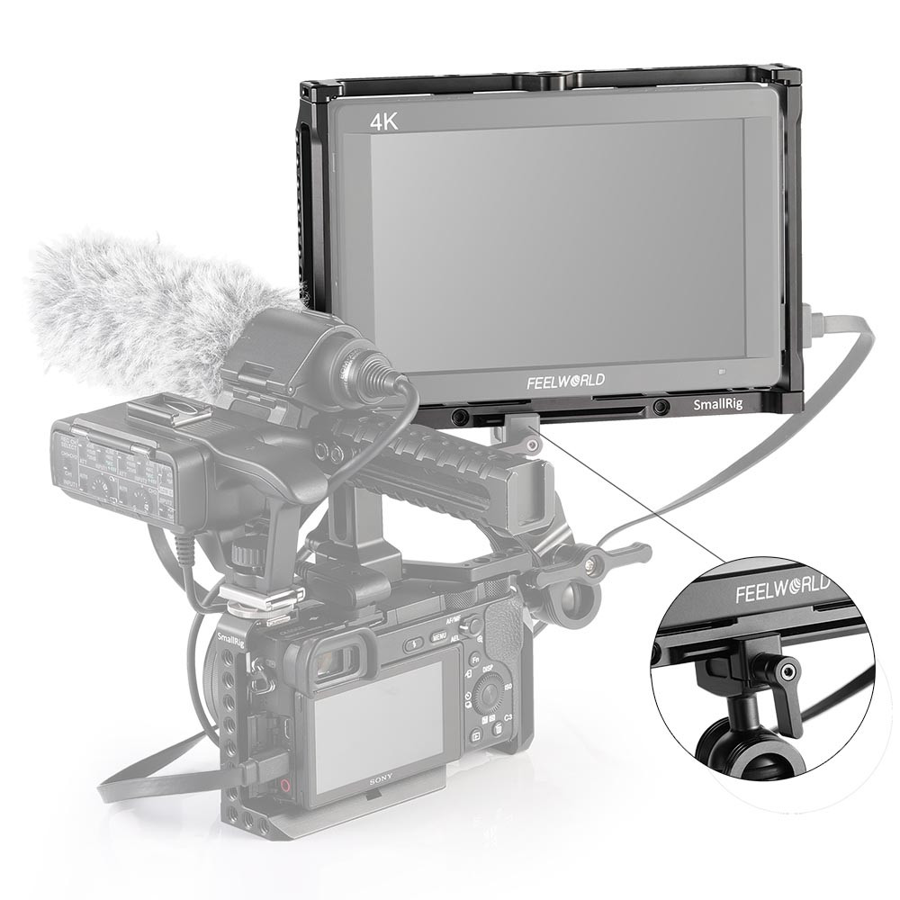 SmallRig Monitor Cage for Feelworld T7, 703, 703S and F7S Monitor 2233
