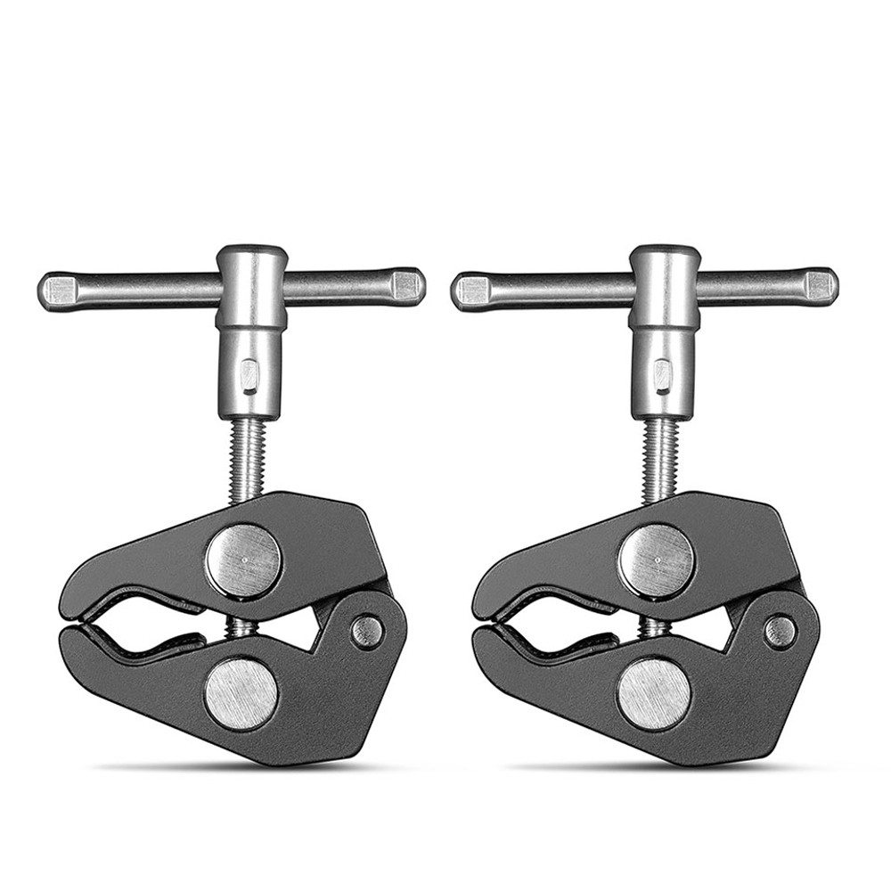 SmallRig Super Clamp with 14 and 38 Thread (2pcs Pack) 2058 ...