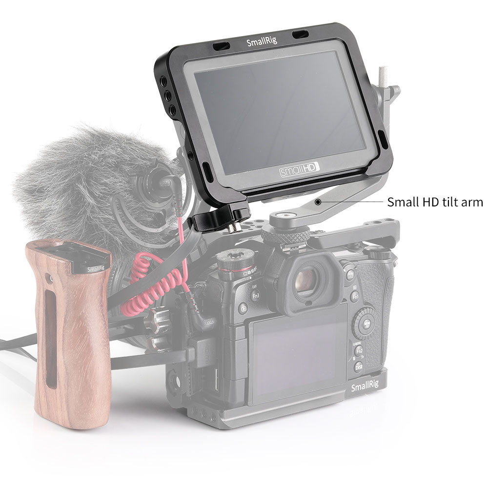 "SmallRig Monitor Cage with Sunhood for SmallHD Focus Series 5""monitor 2249"
