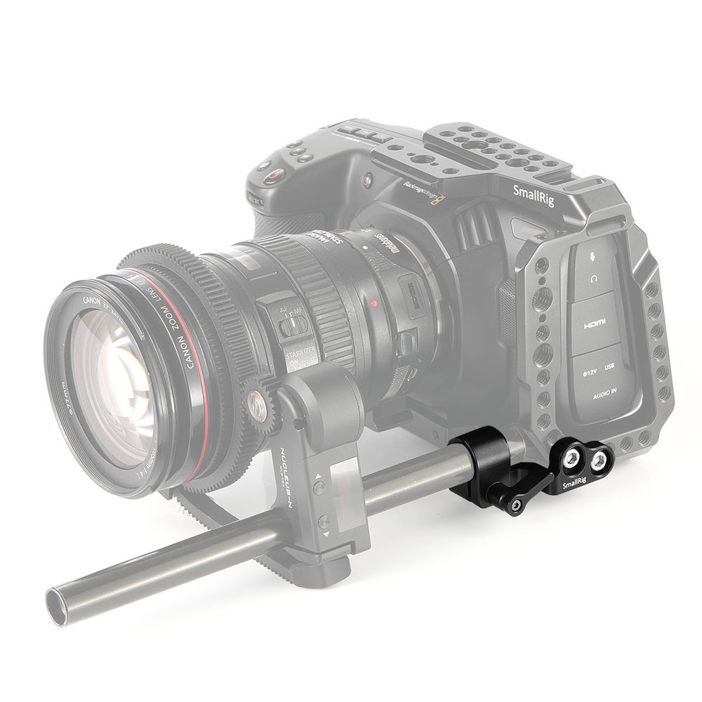 ... SmallRig 15mm Single Rod Clamp for BMPCC 4K Cage 2279 ...