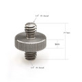 """SmallRig Double Head Stud with 1/4"""" to 1/4"""" thread 10pcs Pack 1613"""