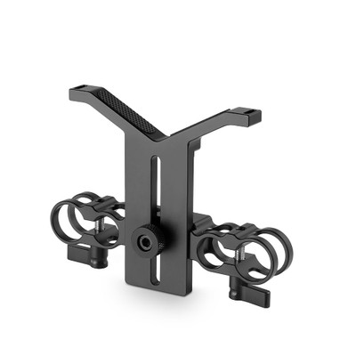 SmallRig Dual 15mm and 19mm Rod Clamp with Lens Support 1783