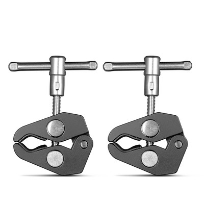 SmallRig Super Clamp with 14 and 38 Thread (2pcs Pack) 2058
