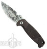 DPx Gear HEST/Mr. DP Coyote Folder Knife, ELMAX Stonewash Combo Blade