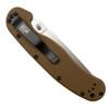 Ontario 8848CB Coyote Brown RAT Model 1 Folder Knife, AUS-8 Satin Blade