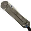 Chris Reeve CGG Cut Once Small Sebenza 21 Knife, Stonewash Plain