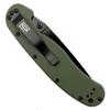 Ontario 8847OD OD Green RAT Model 1 Folder Knife, AUS-8 Black Combo Blade