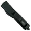 Microtech 231-1T Tactical Contoured UTX-85 S/E OTF Auto Knife, Black Blade