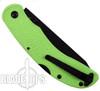 KA-BAR Zombie Kharon Folder Knife, Black Tanto Blade