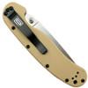 Ontario 8849DT Desert Tan RAT Model 1 Folder Knife, AUS-8 Satin Combo Blade