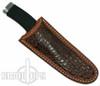 Famars Large Predatore Skinner Knife, Rubber Handle