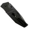 Bear Edge 61503 Sideliner G-10 Tanto Spring Assist Knife, Black Blade