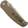 Real Steel H6 Folding Knife, Coyote G10, Plain Stonewash Blade