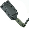 Microtech 102-1GR OD Green Currahee S/E Fixed Blade Knife, OD Green Blade