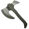 Hoback Knives MCUT Dark Grey Modular Combat Utility Tool Fixed Blade Axe, Dark Stonewash Head