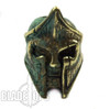LionARMory King Leonidas Marine Brass Bead with Green Patina