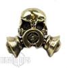 Lion ARMory Gasser Brass Lanyard Bead