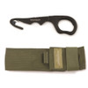 Benchmade 15BLKWADC Safety Cutter, ADC Color MOLLE Compatible Sheath