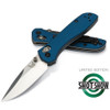 Benchmade 2017 SHOT Show 707-1701 Blue Sequel Folder Knife, CPM-S30V Satin Blade