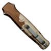 Piranha P-19C Desert Camo Rated-R OTF Auto Knife, 154CM Satin Blade