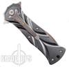 CRKT Tighe Dye Button Lock Knife, 5280