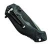 Schrade SCHA4BT Assist Knife, Black Tanto Plain Edge