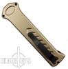Paragon Pewter PARA-XD OTF Auto Knife, Non Glare Dagger Blade
