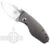 DPx Gear HEAT/F 3D Ti Knife, Stonewash Niolox Blade