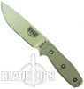ESEE Knives 4P-DT Desert Tan Fixed Blade Knife, Standard Blade