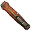 Piranha P-20O Orange Rated-XDE OTF Auto Knife, 154CM Mirror Blade