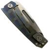 Medford Knife & Tool MK34DSTD-03FL Dress Marauder Flamed Titanium Folder Knife, D2 Satin Blade