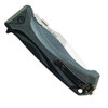 Schrade SCHA6L Assist Knife, Black Handle, Bead Blast Plain Blade