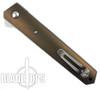 Boker Plus Bronze Custom Anodized Titanium Kwaiken Flipper Knife, VG10 Blade