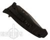 Black Fox Knives Tanto Point Assist Knife, Black Combo Blade