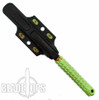 Microtech 116-1Z Zombie Green A.D.O. S/E Fixed Blade Knife, Zombie Green Blade