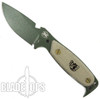DPx OD Green HEST Original Fixed Blade, Plain Blade