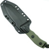 Microtech 103-2GR OD Green Currahee T/E Fixed Blade Knife, OD Green Combo Blade