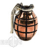 Lion ARMory Hand Grenade Copper Lanyard Bead