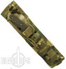 Spartan Blades NYX Fixed Blade Survival Knife, FDE Blade, Green Handle, Multicam MOLLE Sheath