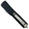 Microtech 148-1 Contoured UTX-70 S/E OTF Auto Knife, Black Blade