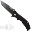 Blackjack Model 3 Tactical Tanto Point Spring Assist Knife, Combo Edge, BJ039S