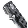 Ruger Go-N-Heavy Folding Knife, Stonewash Plain Blade
