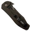 Zero Tolerance Short Run 0630ORBLK Orange Emerson Opener Folder Knife, CPM-S35VN Black Blade