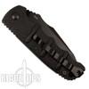 Boker Kalashnikov Recurve Tanto Auto Knife, AUS-8 Black Blade