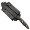 Microtech 114-1DLC Socom Alpha T/E Fixed Blade Knife, DLC Black Blade