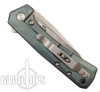 Zero Tolerance LTC Custom Green Anodized Rexford 0808 Flipper Knife, Stonewash Blade