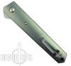 Boker Custom Anodized Plus Titanium Kwaiken Flipper Knife, VG10 Blade